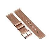 18/20/22/24mm Bracelet Montre Acier Inox Bande pour Montre Mixte Remplacement Deployant Or Rose