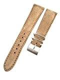 20mm Jean Paul Menicucci Sable daim Cuir Bracelet de montre fait à la main en Italie