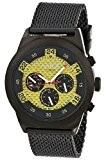 Aatos WedusBBG montre-bracelet pour homme automatique en acier inoxydable plaqué noir et un cadran en fibre carbone
