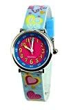 Baby Watch - 3700230606160 - Coffret Bon-Heure Love - Montre Fille - Quartz Pédagogique - Cadran Rose - Bracelet Plastique ...