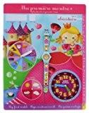 Baby Watch - Abc Petite Reine - Montre Fille - Quartz Pédagogique 3-6 ans - Cadran Jaune - Bracelet Plastique ...