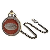 Bling Jewelry de style antique plaqué ou Papy grand-père des hommes de montre de poche