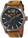 BOSS Orange - 1513240 - Montre Homme - Quartz - Analogique - Bracelet cuir Marron
