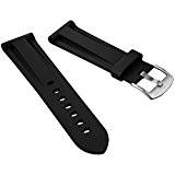 Bracelet de montre ZULUDIVER® en Caoutchouc, Qualité et Résistance, Plongeur Professionnel, Sport et Loisir, 20mm 22mm ou 24mm