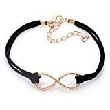 Bracelet Infini Cordon Noir