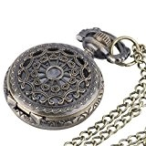 Brass Vintage Pocket Watch Chain Necklace