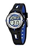 Calypso - K5506/3 - Montre Garçons - Quartz - Digitale - Eclairage-Chronomètre-Temps intermédiaires-Alarme - Bracelet Caoutchouc Multicolore