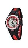 Calypso - K5558/5 - Montre Garçon - Quartz - Digitale - Eclairage-Chronomètre-Temps intermédiaires-Alarme - Bracelet Caoutchouc multicolore