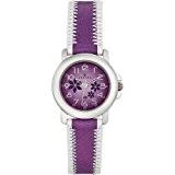 Certus - 647440 - Montre Enfant - Quartz Analogique - Cadran Violet - Bracelet Cuir Violet