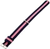 Daniel Wellington - 0705DW - Winchester - Bracelet de Montre Mixte - Nylon Bicolore