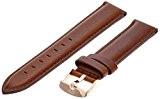 Daniel Wellington - 0707DW - St Mawes - Bracelet de Montre Mixte - Cuir Marron