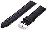 Daniel Wellington - 0808DW - Sheffield - Bracelet de Montre Mixte - Cuir Noir