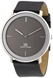 Danish Design - 3314441 - Montre Homme - Quartz Analogique - Bracelet Cuir Noir