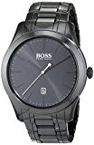 Hugo Boss - 1513223 - Ambassador Modern - Montre Homme - Quartz Analogique - Cadran Noir - Bracelet
