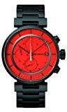 Issey Miyake - SILAY005 - Montre Mixte - Quartz Chronographe - Bracelet Acier Inoxydable Noir