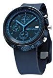 Issey Miyake - SILAZ006 - Montre Mixte - Quartz Chronographe - Bracelet Polyuréthane Bleu