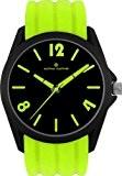 Jacques Lemans - 380F - Montre Mixte - Quartz Analogique - Bracelet Silicone Vert