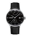 Junkers - 60602 - Montre Homme - Automatique - Analogique - Bracelet Cuir Noir
