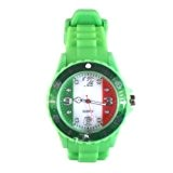 Montre Drapeau Watch Color - bracelet silicone - taille adulte – ITALIE