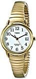 Timex - Femme - T2H351 - Heritage Easy Reader - Quartz Analogique - Blanc - Doré - Acier Inoxydable