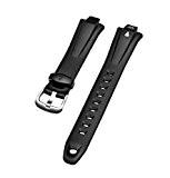 Timex IRONMAN 16mm 50Lap en caoutchouc Noir Bracelet de montre T5C661T5g021T5C671