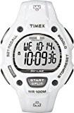 Timex Ironman - T5K617SU - Montre Homme - Quartz Digital - Bracelet Résine Blanc