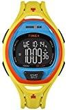Timex Mens iron man INDIGLO élégant alarme chronographe jaune orange TW5M01500