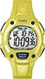 Timex - T5K684 - Ironman - Montre Mixte - Quartz Digital - Cadran LCD - Bracelet Résine Jaune