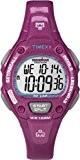 Timex - T5K688 - Ironman - Montre Femme - Quartz Digital - Cadran LCD - Bracelet Résine Rouge