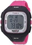 Timex - T5K753 - Ironman Easy Trainer GPS - Montre GPS Femme - Bracelet Résine - Alarme/Compte à rebours/Chronomètre
