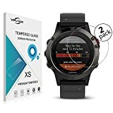 VIFLYKOO Garmin Fenix 5 Protecteur D'écran [2-Pack] Garmin Fenix 5 Verre Trempé 9H Flim Protection Protecteur écran pour Garmin Fenix ...