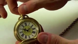 Remonter sa montre de poche mecanique